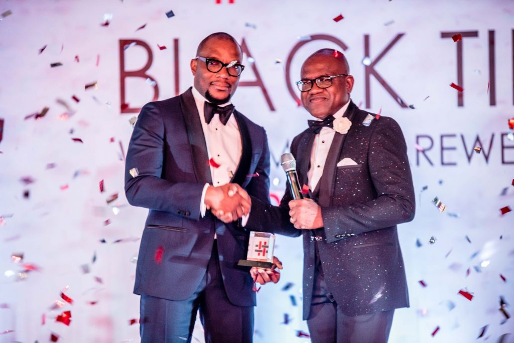 Africa Prudential CEO, Mr Obong Idiong & Peter Asahade
