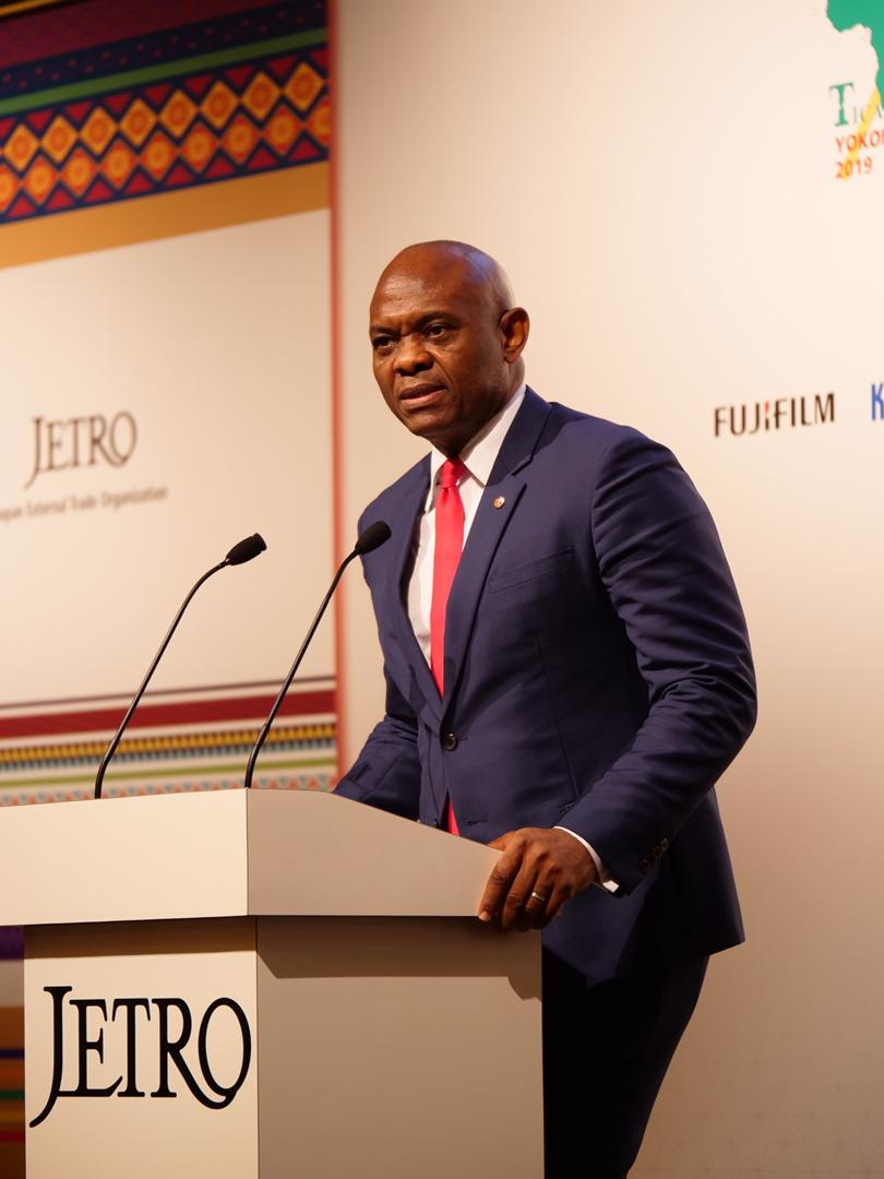 Tony Elumelu at TICAD