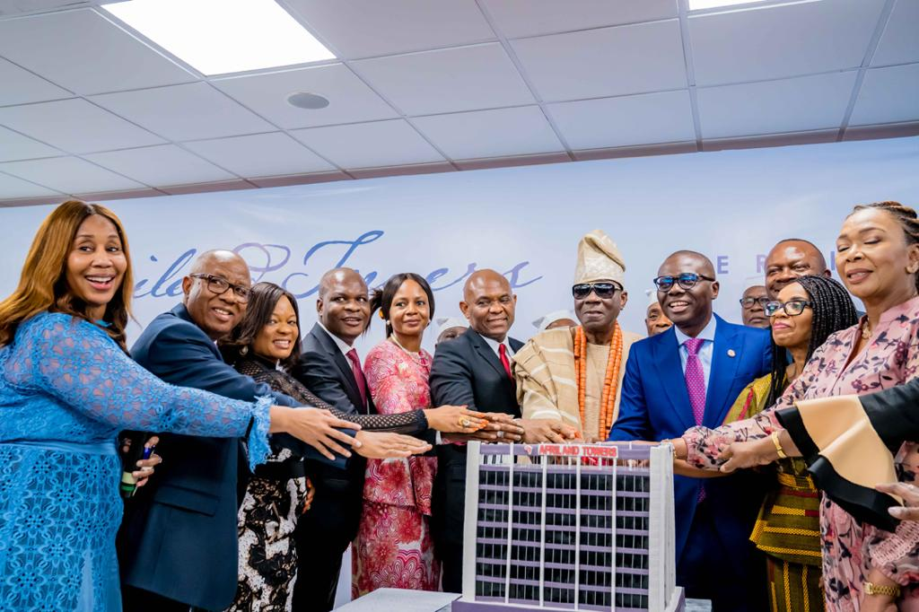 Commissioning of the Afriland Towers