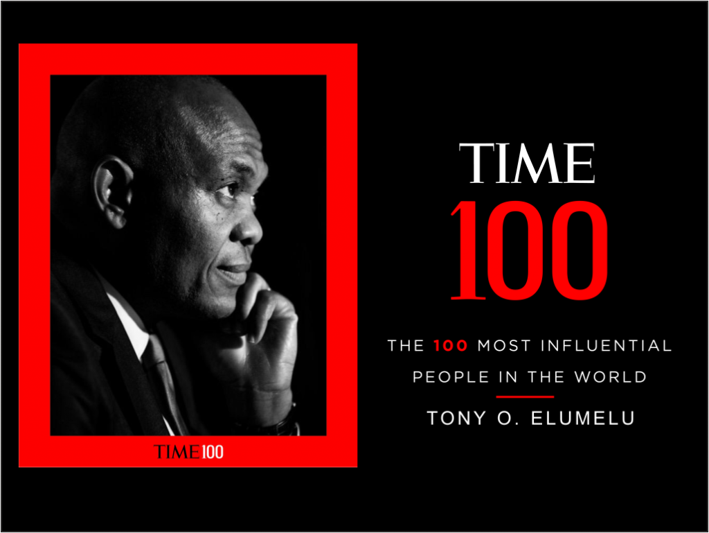 TIME 100: Tony Elumelu