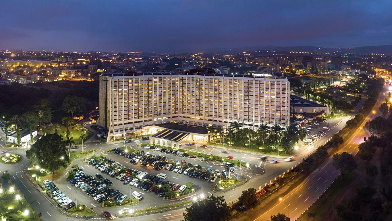 Skyline view of Transcorp Hilton Hotel, Abuja